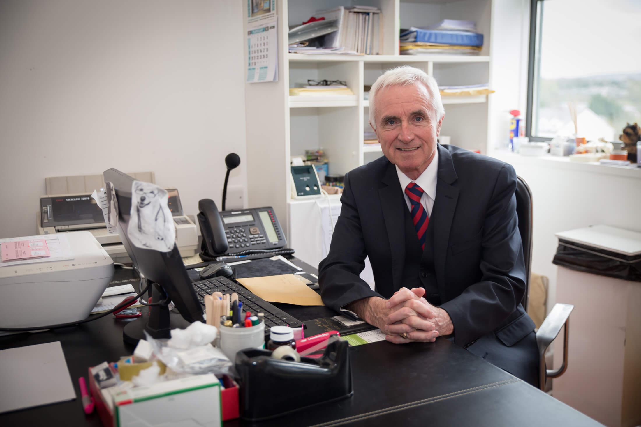 Scally, McDaid Roarty Medical Practice Reception - Dr. Jim McDaid